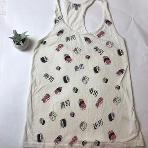Forever 21 | Sushi Roll Japanese Food Graphic Tank